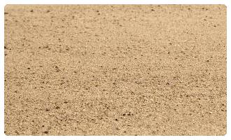 Piste en sable