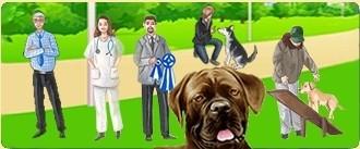 Dogzer - Exercez un métier pour vous occuper des chiens !